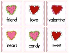 Valentine's Day Fun: Word Hunt, Matching, ABC Order Cut and Paste