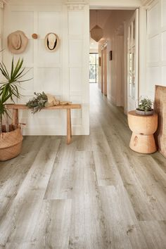 Aurora, Hybrid Flooring from Godfrey Hirst offers the visual appeal of timber in an extremely durable hybrid floor. Featured here in colour Heamatite.