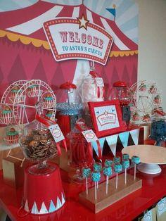 Ideas para fiesta con tema de circo #Circus