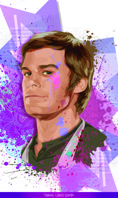 Dexter Morgan Draw made by me NK Adobe Illustrator CC
