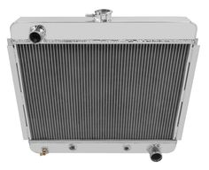 "1941-1946 Chevy Pickup Trucks Aluminum 2 Row 1/"" Tubes American Eagle Radiator"