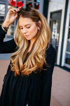 Magnifique coupe de cheveux long dégradé