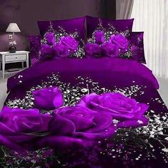 Noble Rose And Gypsophila Paniculata Print Cotton Duvet Cover Sets. Find  This Pin And More On Beautiful 3D Bedsheets ...