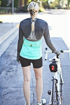 Cool spring ride? I've got just the thing!  [Women's Cycling Merino Wool Bolero]