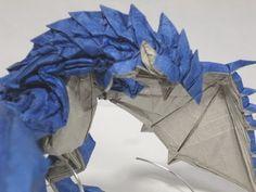 【折り紙】 ナルガクルガ 【折り方】 Nargacuga - YouTube