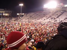 Cougar fans celebrate after an Apple Cup win in 2004 http://www.payscale.com/research/US/School=Washington_State_University_(WSU)/Salary