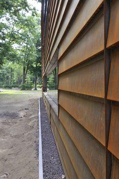 1000 images about architectuur on pinterest door de tes and van - Architectuur staal corten ...