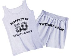 50 Shades of Grey  Property Of 50 Christian by domesticspaztoo, $42.00
