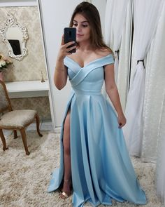 Apr 2020 - Prom Dresses Beautiful, Chic V Neck Lace Party Dress Prom Dress Floor Length with Split Side Lace Party Dresses, Gala Dresses, Prom Dresses Blue, Homecoming Dresses, Cute Dresses, Evening Dresses, Bridesmaid Dresses, Formal Dresses, Beaded Prom Dress