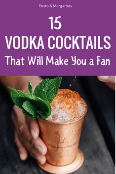 Vodka cocktails recipes include some of the most famous cocktail recipes like the Cosmopolitan and the Black Russian. Easy vodka cocktails include the Screwdriver and the Moscow Mule. Try vodka cocktails for a crowd or simple vodka cocktails that are perf Famous Cocktails, Easy Cocktails, Bourbon Cocktails, Easy Vodka Drinks, Cocktail Recipes For A Crowd, Summer Cocktails, Black Russian, Starbucks, Margarita Cocktail