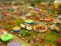 unfold.:: photo editing project. tilt-shift photography.