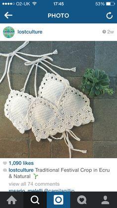 Love these crochet tops so muuucch