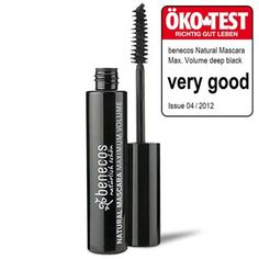 ab09bb00675 benecos Maximum Volume Mascara: Deep Black: Benecos Natural & Organic  Maximum Volume Mascara in Deep Black fills out even the thinnest of lashes  with this ...