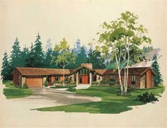 Main image for house plan # 17465