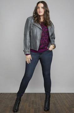 Bernardo Jacket, Halogen® Sweater, Wit & Wisdom Jeans | Nordstrom
