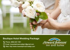 Howardjohnsonvallejo is the perfect Boutique Hotel Wedding Package for your big moment. https://goo.gl/Ta62fn
