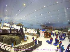 UAE – Dubai Blogger and Youtuber Travel Vlog: Mall of the Emirates, Ski Dubai, UAE..