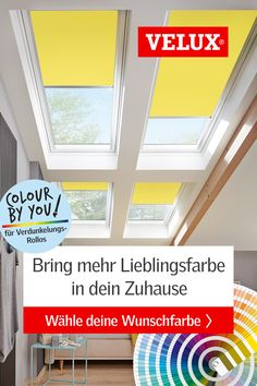 VELUX Verdunkelungsrollo Colour by You in Farben