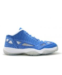 pretty nice 8a76a 4d83c Air Jordan 11 Retro Low Argon Blue Zest White 306008-471