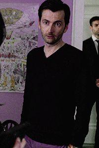 David Tennant as Kilgrave in Jessica Jones