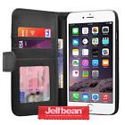 Jellibean Apple iPhone 6 Genuine Leather Wallet Case Cover ID Slot  Protector #February