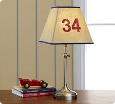 burlap parker shade from pottery barn kids