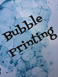 Simple Little Home: Bubble Printing. Step-by-step instructions.
