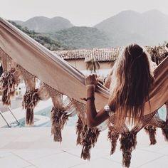 Hangout sunday! Gypsy hammock, bohemian vibes. Kill 'm with Love