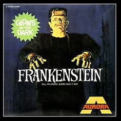 Click Here. Double your traffic. Get Vendio Gallery - Now FREE! Payment | Shipping | Additional Information Glow in the Dark Aurora Frankenstein Model Kit 2.5 inch fridge magnet Click to View Image Al