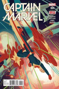 Captain Marvel #4 Marvel Comics (2016)