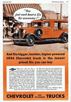 1934 Chevrolet Canopy Express Truck  --Pinned by WhanotGems.Etsy.com