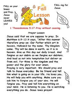 Fall Sunday School Lesson.jpg 1,019×1,319 pixels