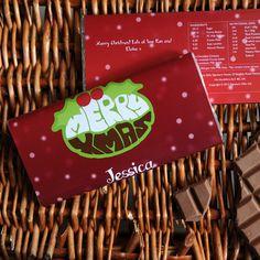 A yummy alternative to Christmas cards! https://nspcc.ijustloveit.co.uk/product/personalised-christmas-chocolate-bar-xmas-pudding/