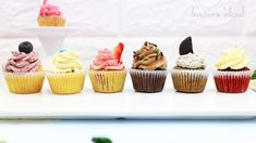 Mini Cupcakes 6 Ways: 1 Batter 6 Flavours (Red Velvet, Cookies 'n Cream ...