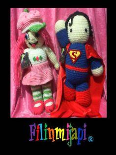 Superman y Chica Fresita