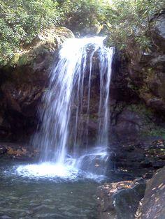 Grotto Falls - Smokey Mountains