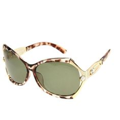 U UV400 Protection Stylish Polarizing Sunglasses for Outdoor Sports (Brown)
