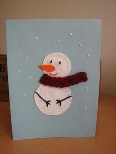 Deshilachado: Tutorial: tarjetas navideñas / Tutorial: Christmas cards