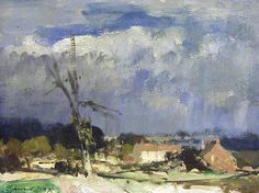 Edward Seago Jaspers Farm Norfolk