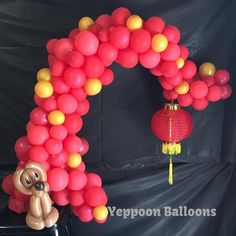 """14 Likes, 1 Comments - YeppoonBalloons (@yeppoonballoons) on Instagram: """"Happy Chinese New Year Everyone! May the year of the dog be a rewarding one! #yeppoonballoons…"""""""
