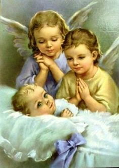 Baby and angels