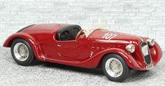 Alfa Romeo 6c 2300 Spyder Brianza Mille Miglia 1937 #107 - Alfa Model 43