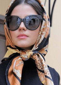 Trendy how to wear scarves on your head scarf ideas 23 ideas Ways To Wear A Scarf, How To Wear Scarves, Womens Fashion Online, Latest Fashion For Women, Hair Accessories For Women, Fashion Accessories, Head Scarf Tying, Head Scarf Styles, Scarf Wearing Styles