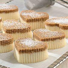 Sweetheart Cheesecakes: King Arthur Flour
