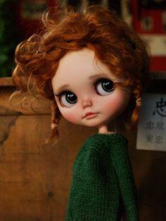 Custom Blythe Doll, Alice's Tears.