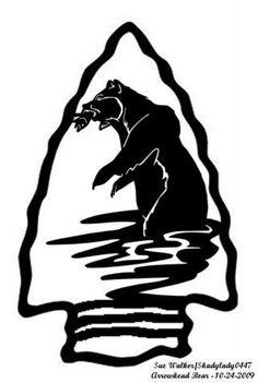 Arrowhead Bear - Animals - User Gallery - Scroll Saw Village