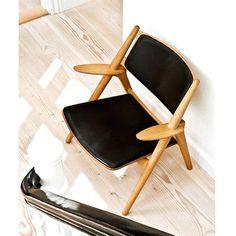 CH28 de Carl Hansen & Son. Design: Hans J. Wegner, 1952. #furniture