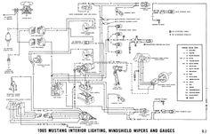 1965 Mustang Wiring Diagrams 1965 mustang, Mustang