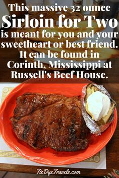 Road Eats: Russell's Beef House in Corinth, MS. | Tie Dye Travels with Kat Robinson