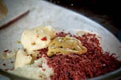 Dried Beef Cheeseball by Om Nomalicious. Almost like Erika's
